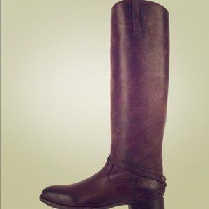 Frye Lindsay Plate Knee High Boots